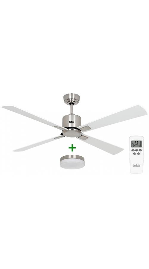Casafan Eco Neo III 132 BN-WE/LG Light - Ανεμιστήρας Οροφής με Φωτιστικό Κιτ