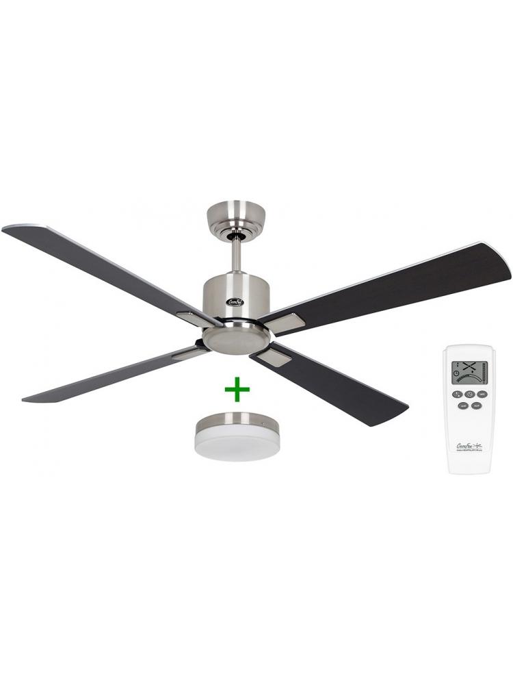 Casafan Eco Neo III 132 BN-WN/SI Light - Ανεμιστήρας Οροφής με Φωτιστικό Κιτ