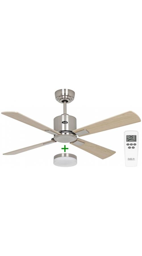 Casafan Eco Neo III 103 BN-AH/BU Light - Ανεμιστήρας Οροφής με Φωτιστικό Κιτ