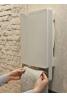 Aurora Touch - Ψηφιακό Αερόθερμο Μπάνιου με γκρι πετσετοκρεμάστρα