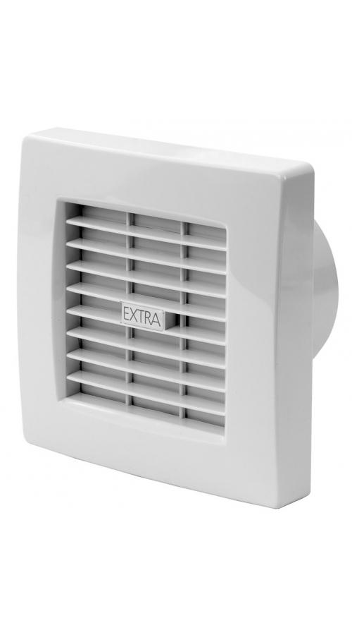 Europlast X120ZT - Εξαεριστήρας μπάνιου με αυτόματες περσίδες & χρονοδιακόπτη