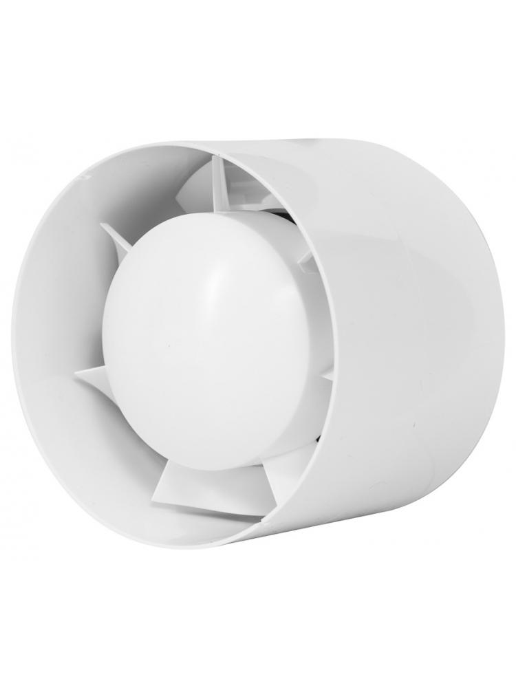 Europlast EK100T - Εξαεριστήρας μπάνιου για σωλήνα με χρονοδιακόπτη