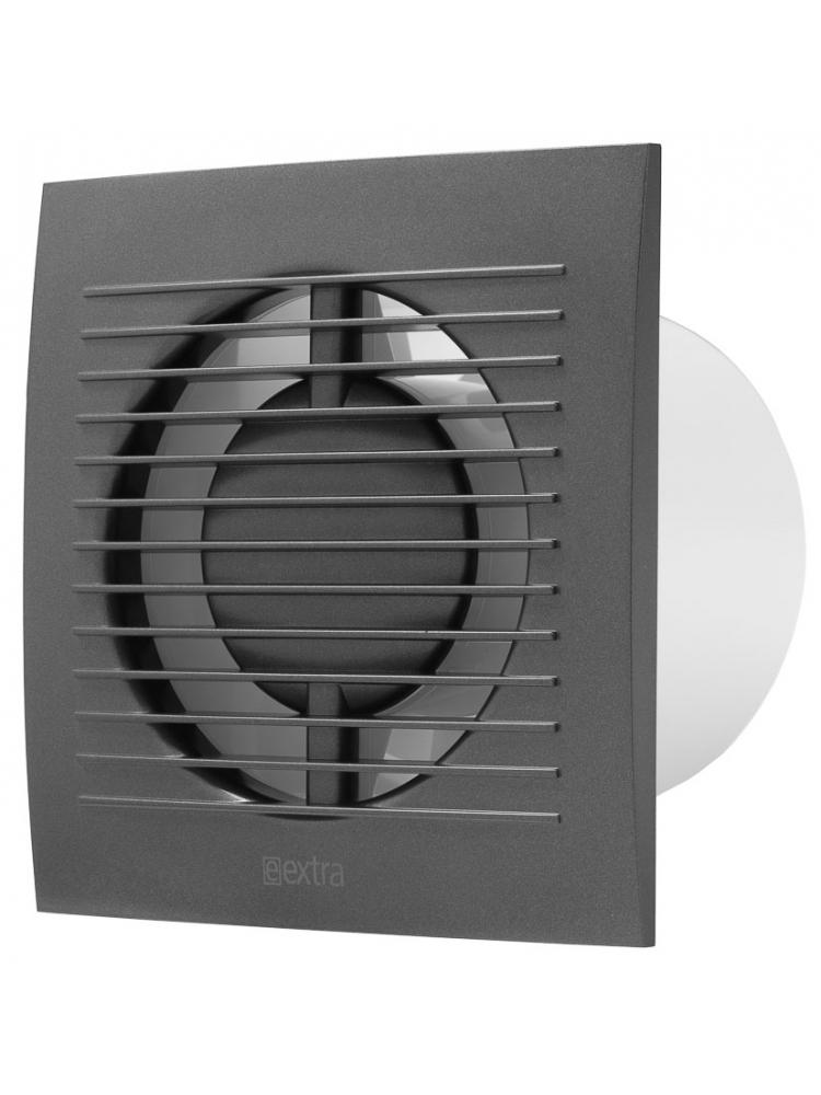 Europlast EE100TA - Εξαεριστήρας μπάνιου Ανθρακί με χρονοδιακόπτη