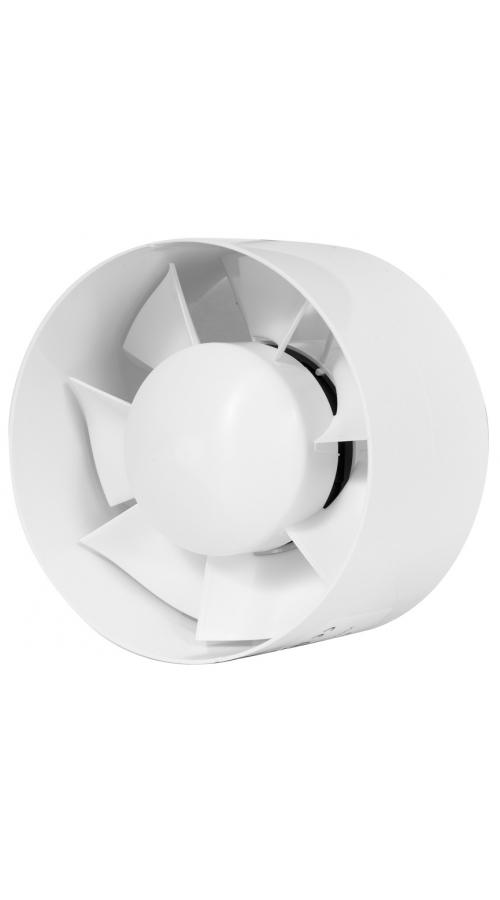 Europlast EK125T - Εξαεριστήρας μπάνιου για σωλήνα με χρονοδιακόπτη