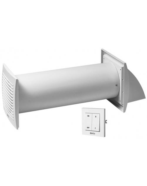 Europlast EER100S - Εναλλάκτης Θερμότητας Αέρα με Διακόπτη τοίχου