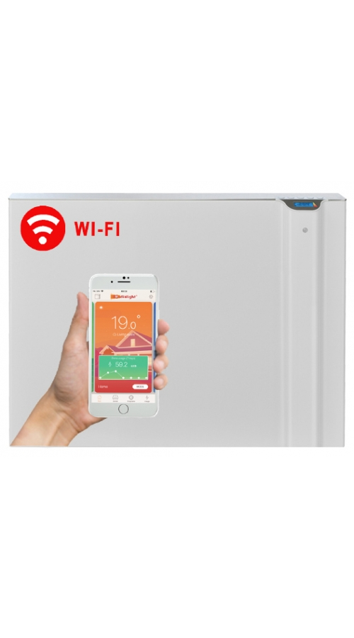 Radialight Klima WiFi 1000 Watt - Ψηφιακός Θερμοπομπός Διπλής Λειτουργίας