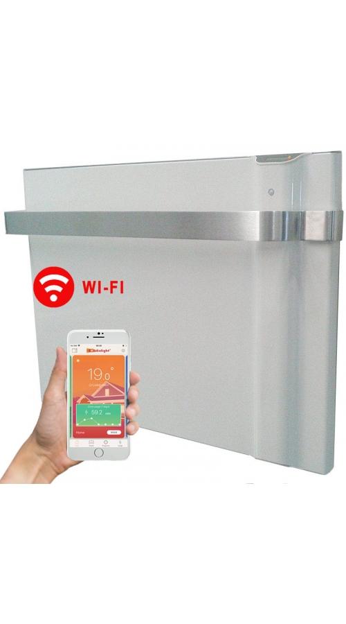 Radialight Klima AS WiFi 750 Watt - Ψηφιακός Θερμοπομπός Διπλής Λειτουργίας με Πετσετοκρεμάστρα Αλουμινίου
