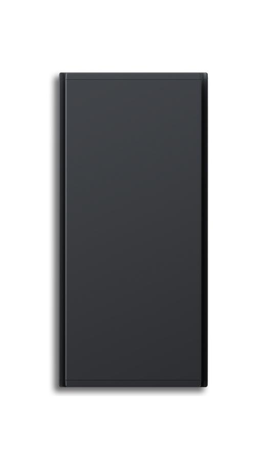 Radialight Icon 750 Watt Ανθρακί - Κάθετο Ψηφιακό Σώμα Θέρμανσης