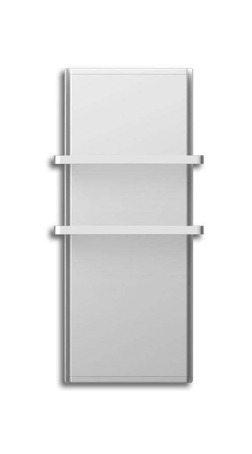 Radialight Icon 2B 750 Watt Λευκή - Ψηφιακή Πετσετοκρεμάστρα Μπάνιου