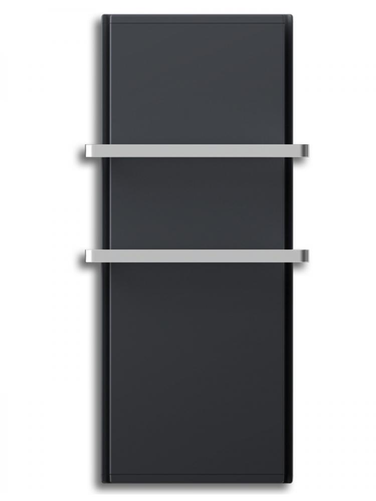 Radialight Icon 2B 750 Watt Ανθρακί - Ψηφιακή Πετσετοκρεμάστρα Μπάνιου