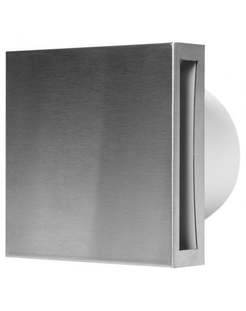 Europlast EET100i - Εξαεριστήρας μπάνιου με Ανοξείδωτο (Inox) κάλυμμα