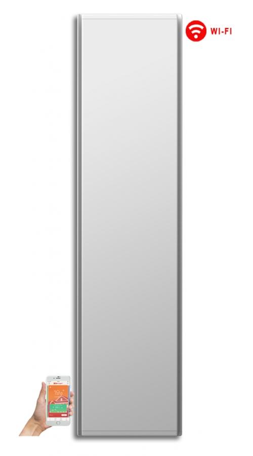 Radialight Icon WiFi 2000 Watt Λευκό - Κάθετο Ψηφιακό Σώμα Θέρμανσης