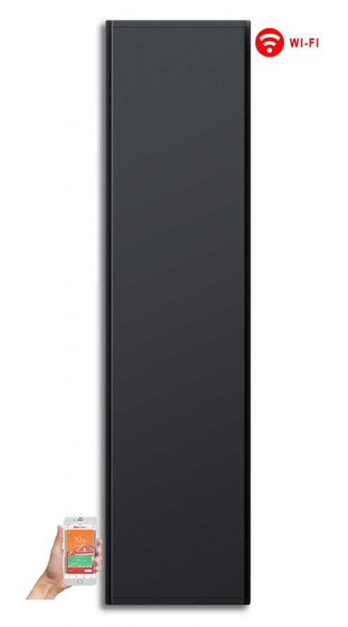 Radialight Icon WiFi 2000 Watt Ανθρακί - Κάθετο Ψηφιακό Σώμα Θέρμανσης