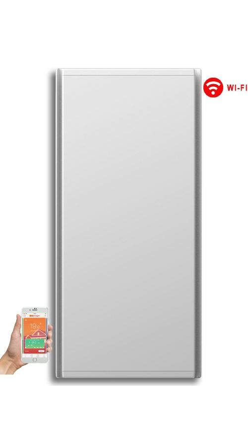 Radialight Icon WiFi 750 Watt Λευκό - Κάθετο Ψηφιακό Σώμα Θέρμανσης