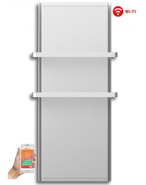 Radialight Icon 2B WiFi 1000 Watt Λευκή - Ψηφιακή Πετσετοκρεμάστρα Μπάνιου