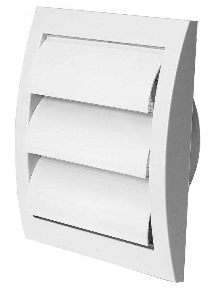 Europlast ND10Z - Περσίδα Εξαερισμού Πλαστική Βαρύτητας με Πλέγμα Προστασίας