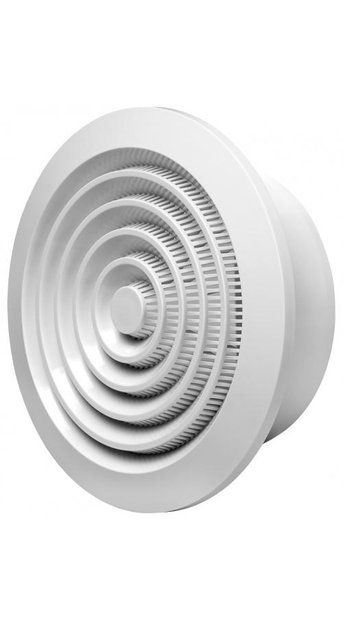 Europlast NGA125 - Περσίδα Εξαερισμού Πλαστική με Πλέγμα Προστασίας