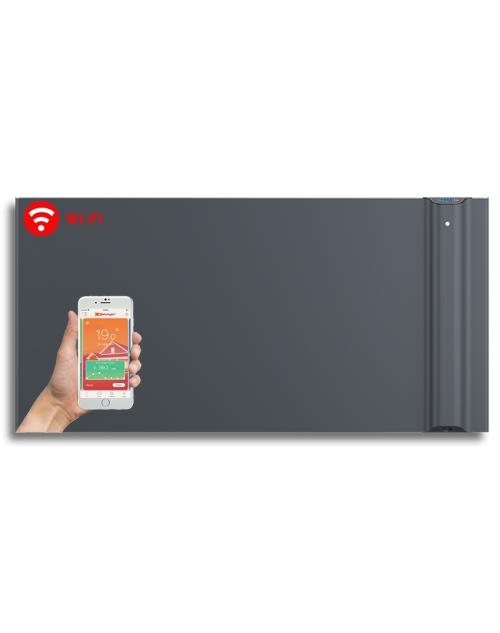 Radialight Klima WiFi 1500 Watt Ανθρακί - Ψηφιακός Θερμοπομπός Διπλής Λειτουργίας