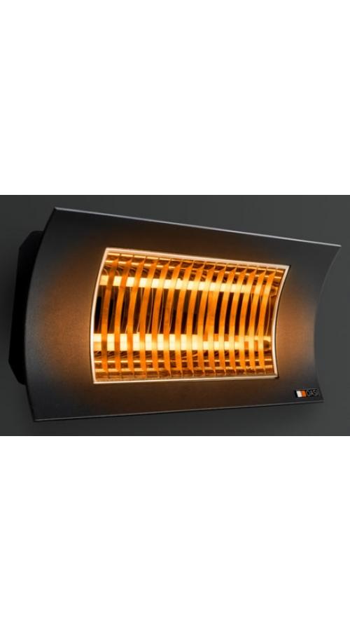 Radialight OASI 2000 Watt Μαύρο - Επαγγελματικό Υπέρυθρης Ακτινοβολίας