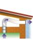 Aurora AST 100 - Εξαεριστήρας μπάνιου για σωλήνα