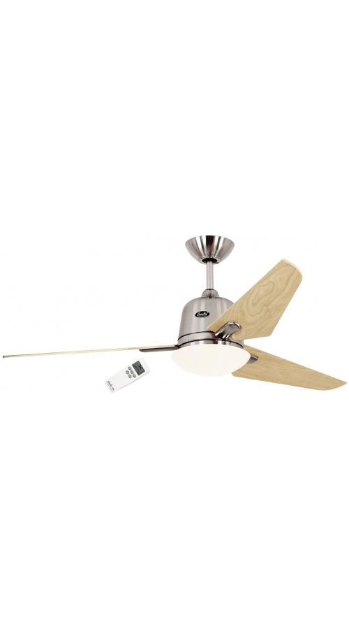 Casafan Eco Aviatos 132 BN-AH - Ανεμιστήρας Οροφής με Φωτιστικό