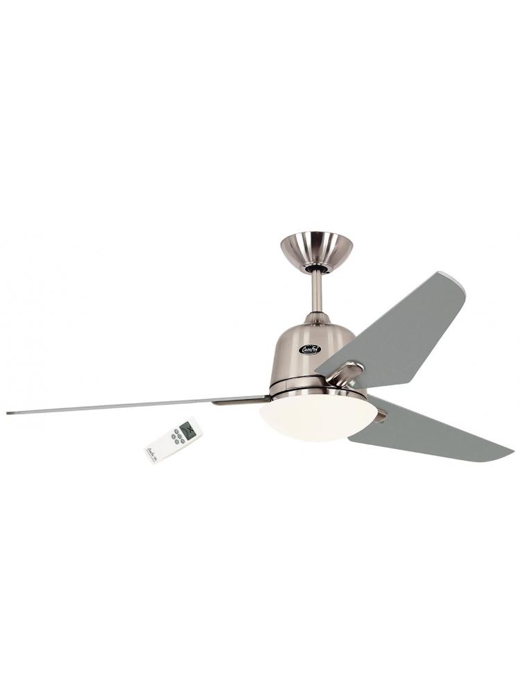 Casafan Eco Aviatos 132 BN-SL - Ανεμιστήρας Οροφής με Φωτιστικό