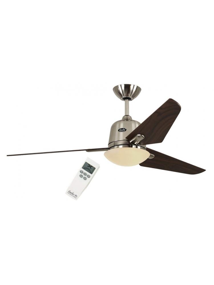 Casafan Eco Aviatos 132 BN-NB - Ανεμιστήρας Οροφής με Φωτιστικό