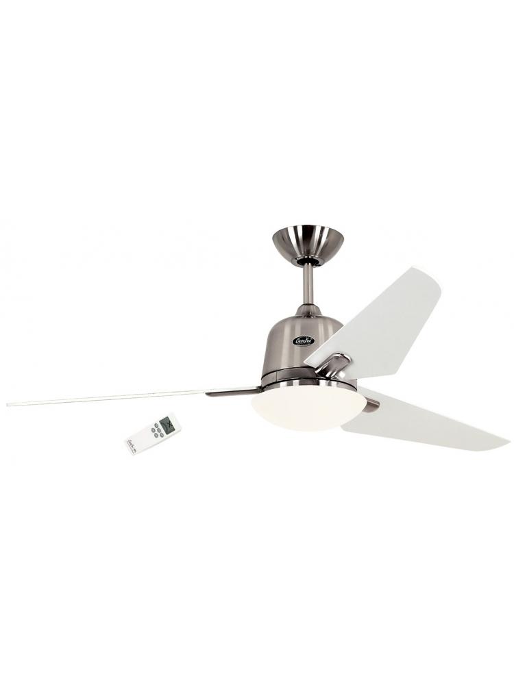 Casafan Eco Aviatos 132 BN-WE - Ανεμιστήρας Οροφής με Φωτιστικό